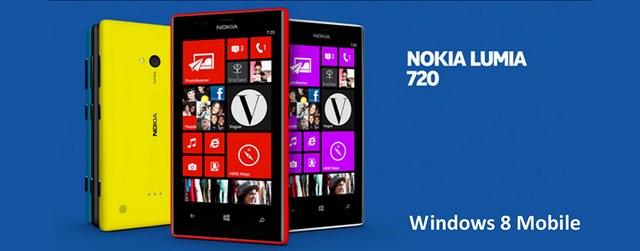 Presentato Nokia Lumia 720