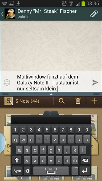 Whatsapp Beta con supporto al Multi-Windows