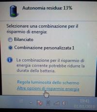 Opzioni per batteria portatile